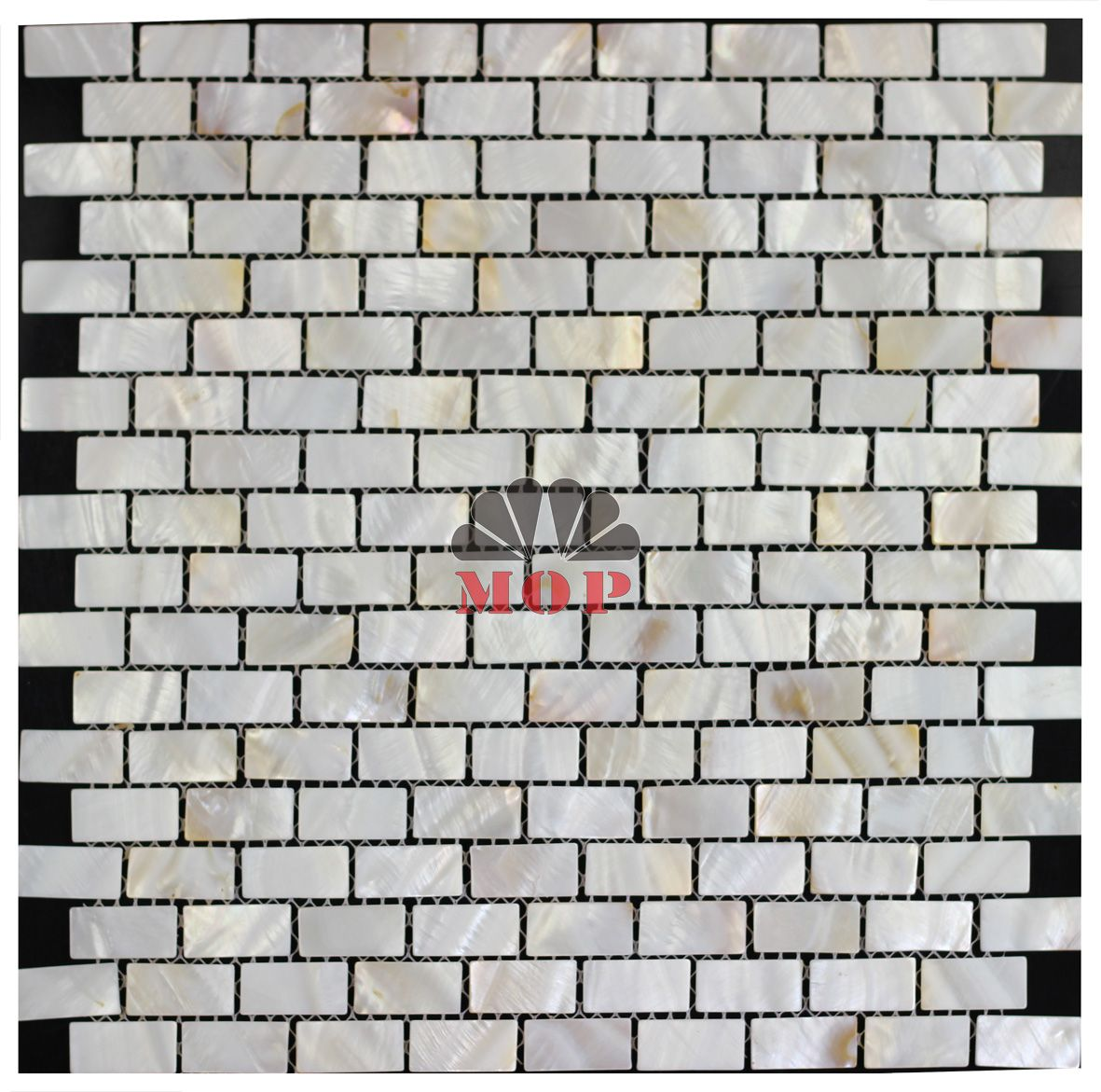 High Quality Mother Of Pearl Mosaic Tile Mesh Backing Brick Chip Natural Color 15 30mm 2mm Thick Healthy Wall Shell Mosaic Tile Mosaic Floor Tile Shell Mosaic