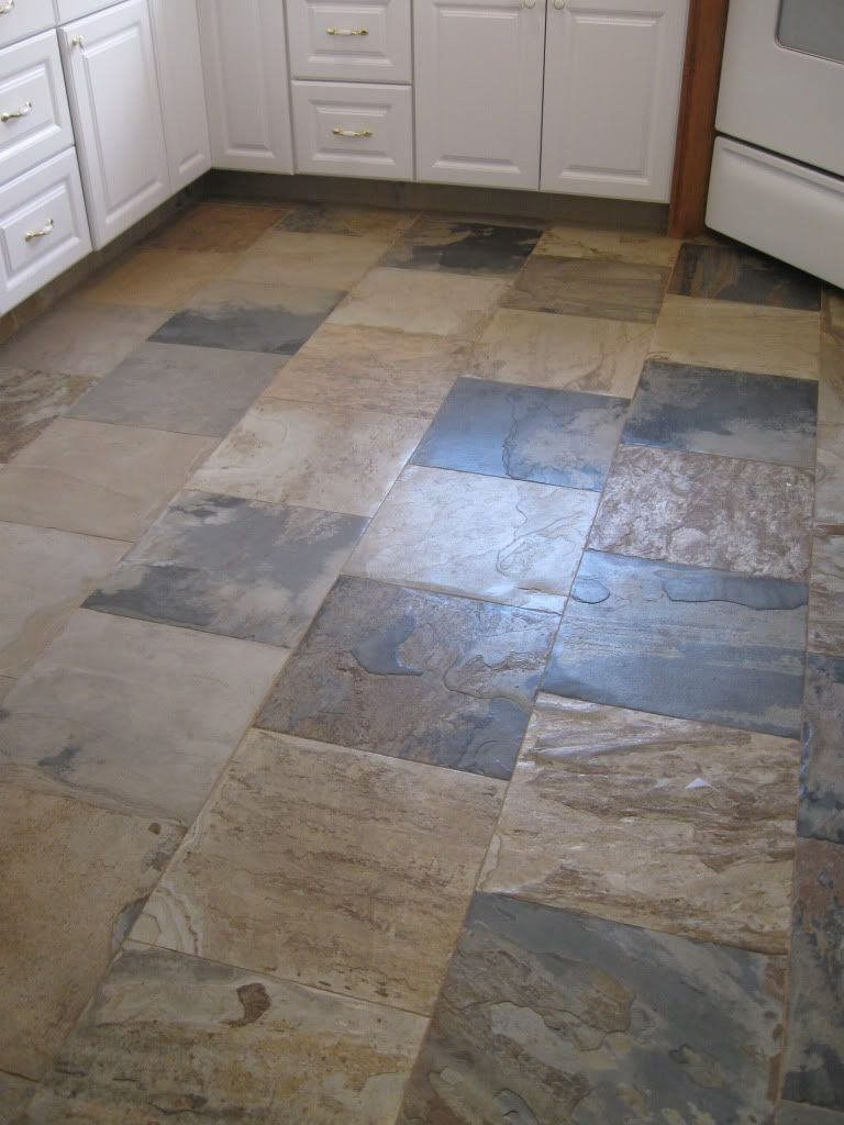 Indian Autumn Slate Tile Floor Google Search Tile Floor Floor Tile Design Slate Tile Floor