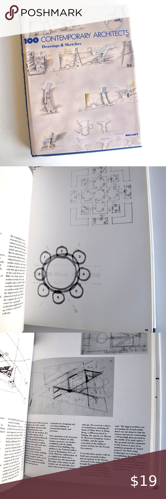 Design Book 100 Contemporary Architects Drawings In 2021 Book Design Architect Drawing Drawing Sketches