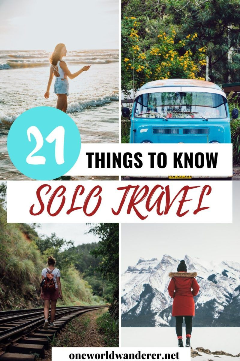 Solo travel is an amazing experience, but there is a lot of things you need to know that nobody ever tells you about it before you go. These 21 things to know about before you travel solo will help you plan your solo travel trip, feel safe when travelling, and be prepared for travelling the world. They will help you be a better solo traveller, especially if you are a female solo traveller. It is a must-read for anybody planning a solo travel trip. #SoloTravel #TravelAlone #SoloTraveller