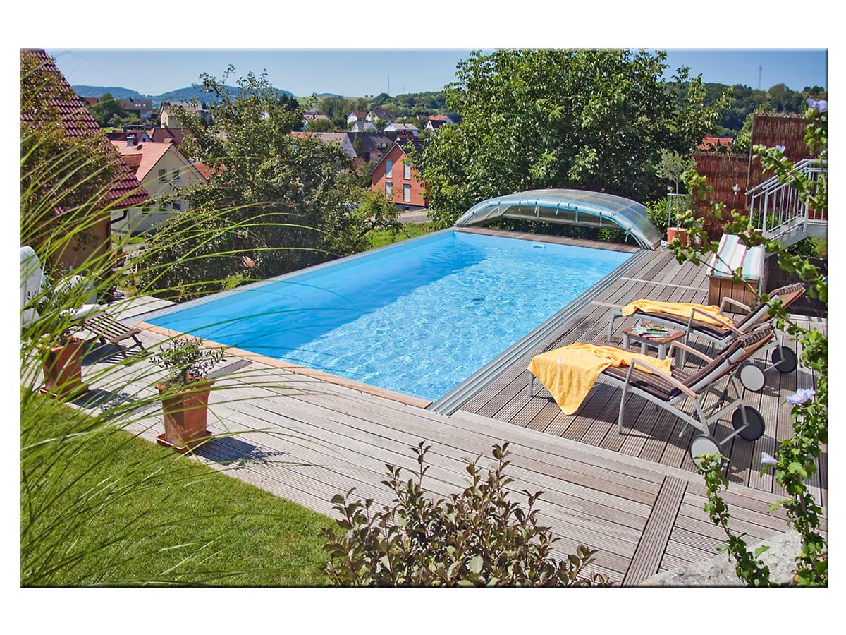 Styropool Rechteck Becken 1 25m Tief 3 5x7m Pool Selber Bauen Schwimmbecken Pool