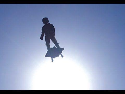Flyboard Ai simplemente impresionante [Vídeo]