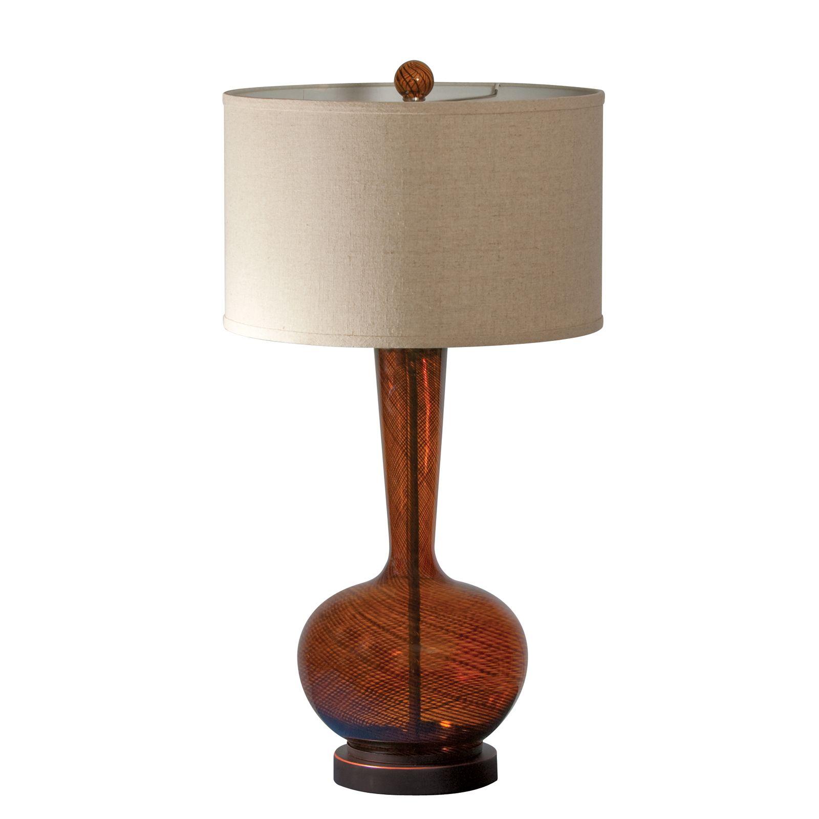 Fitzgerald table lamp indoor living pinterest linens fitzgerald table lamp glass table lampscandice olsonlight aloadofball Gallery