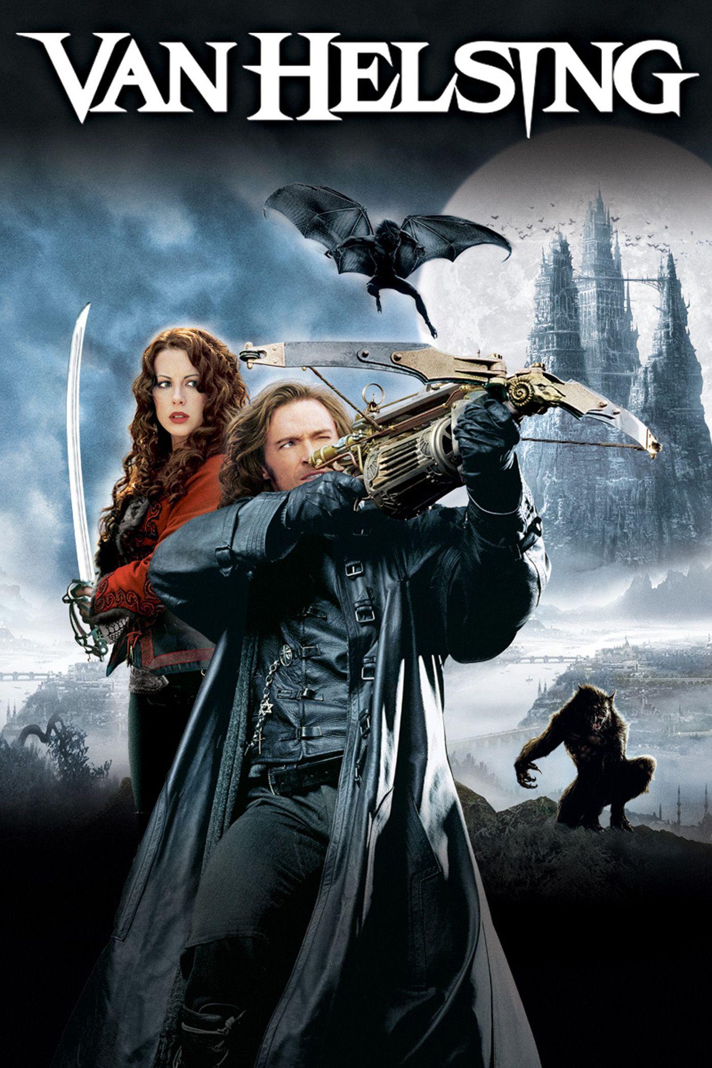 Van Helsing Hugh Jackman Door Poster Colour