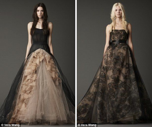 Would You Get Married in Black? Vera Wang Thinks You Should ...