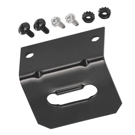 reese 118144 mounting bracket 4 way flat, multicolor in 2019  hoppy 48465 7 rv blade trailer wiring