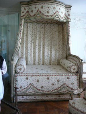A bed in Marie Antoinette's Petit Trianon