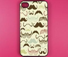 Iphone 4 Case - Multi Mustache Iphone Case,Iphone 4s Case on Luulla