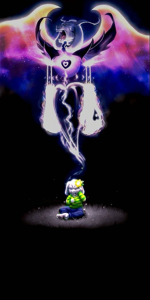 Asriel Undertale It Can Be An Iphone Home Screen Wallpaper Undertale Undertale Drawings Undertale Comic