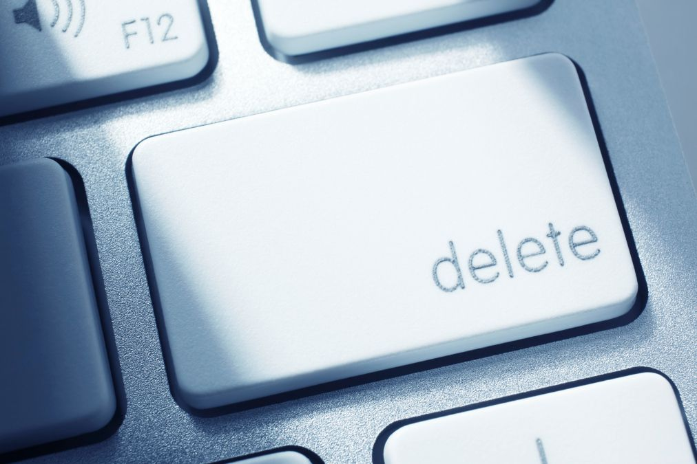 How to delete yourself from the student