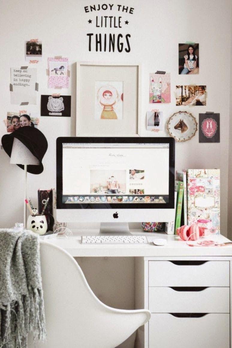 Cómo decorar tu oficina para trabajar mejor | Decorar tu casa, Es ...