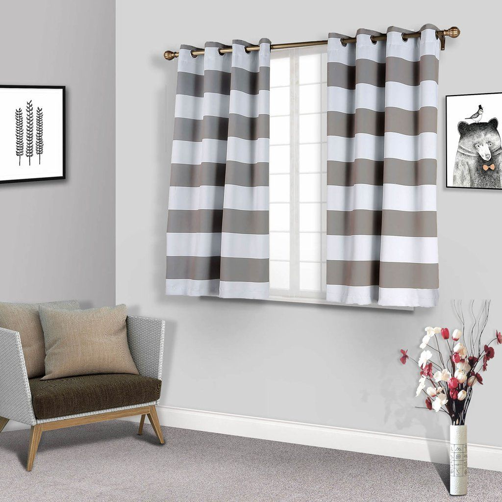 If You Are Looking To Make Your Decor Less Formal Feel Free To Checkout Our Collect Thermal Insulated Blackout Curtains Grommet Curtains Grey Blackout Curtains