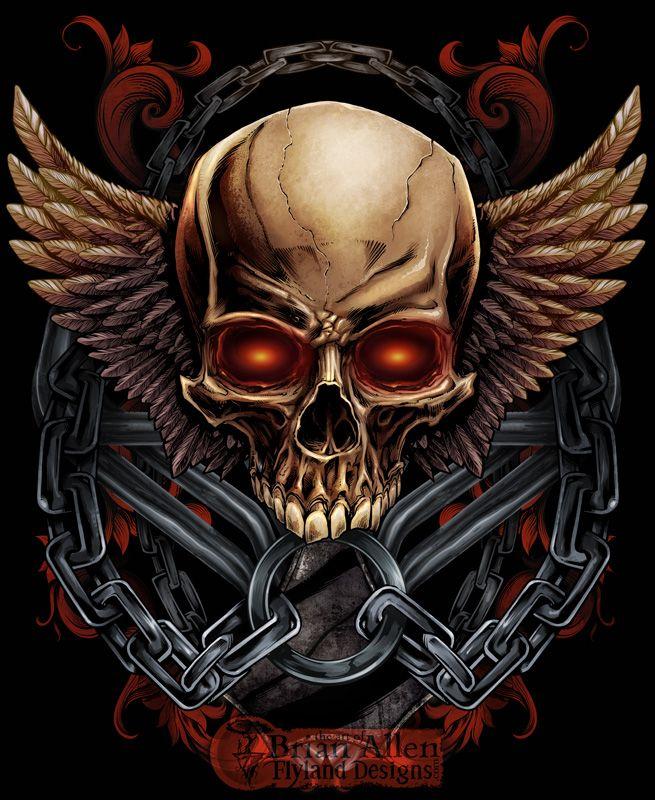 Skull T Shirt Design For Mma Apparel Brand Ideas For