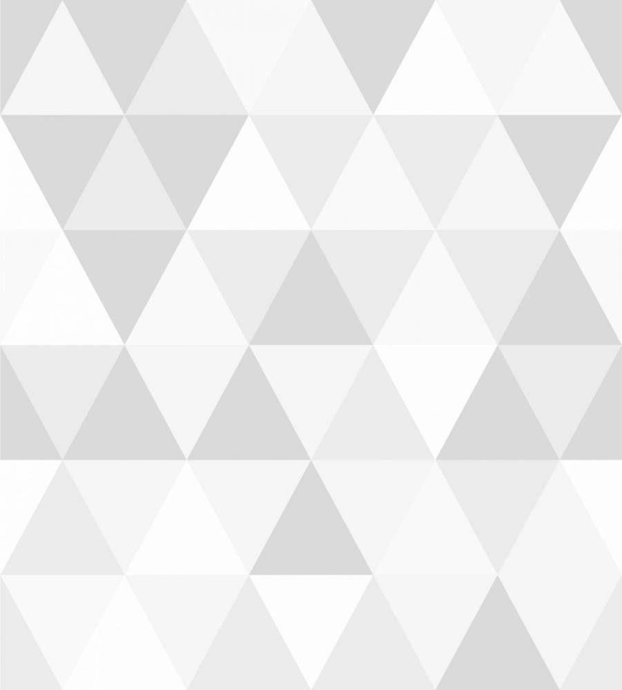 96cb2ef55 Papel de parede geométrico em tons de cinza - PA7857