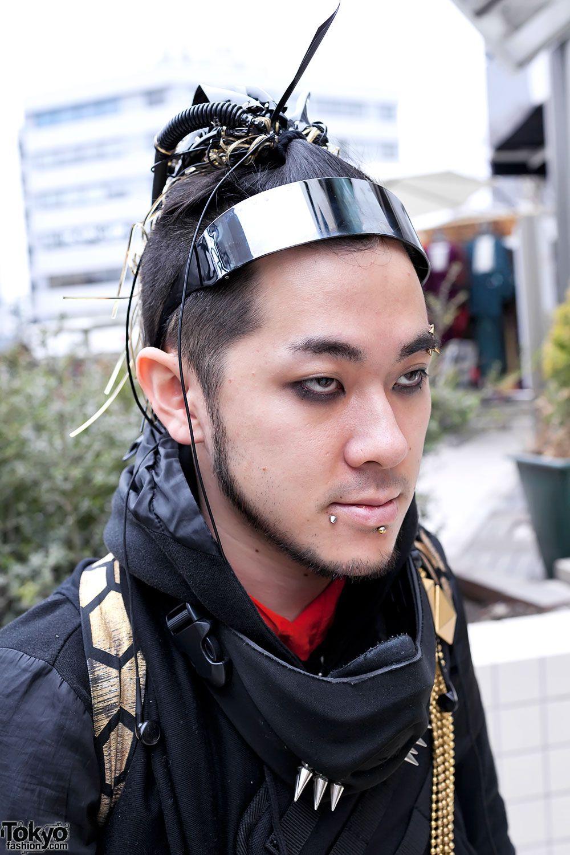 "deadlybite: "" Japanese Cyber Goth/Punk Street Style in ..."