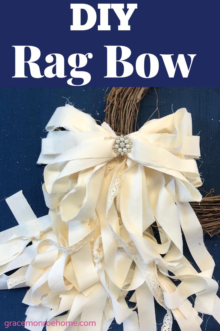 DIY Rag Bow Tutorial