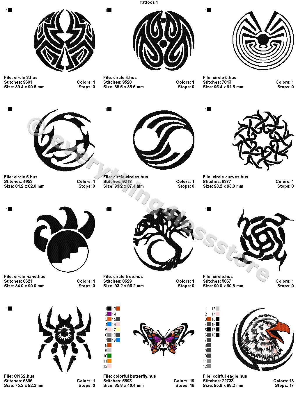 There are 48 beautiful all original machine embroidery designs in there are 48 beautiful all original machine embroidery designs in this symbols tattoospaganwiccanwitchcraftmachine buycottarizona Image collections