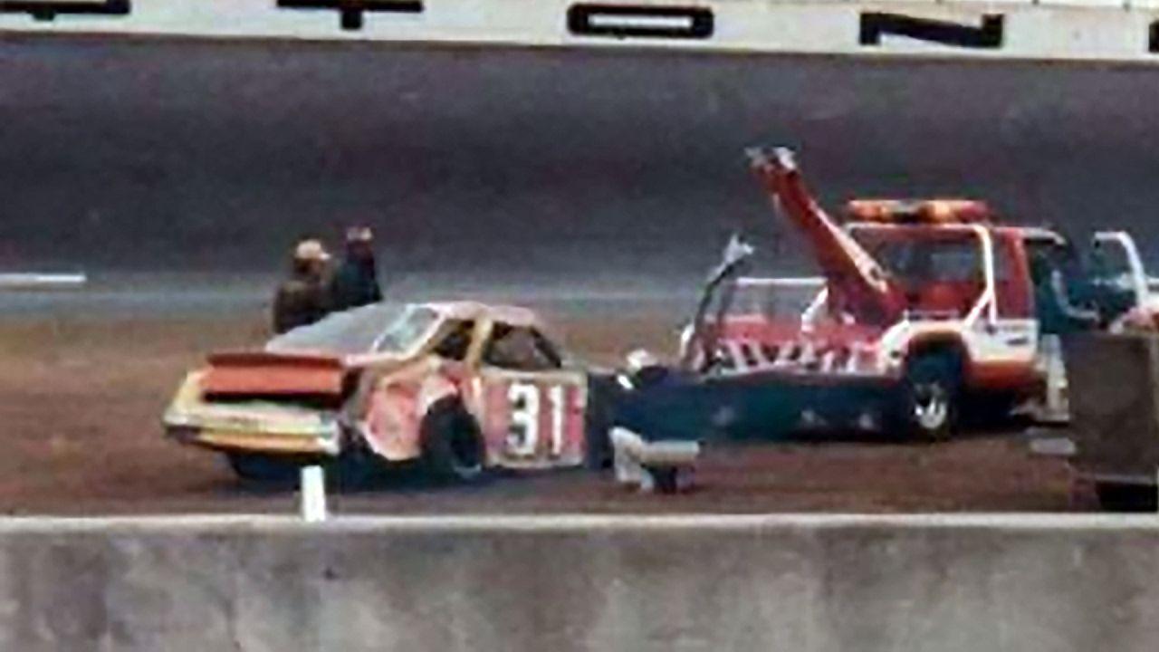 Benny Knotts fatal crash at Daytona Twin 125 (February 14