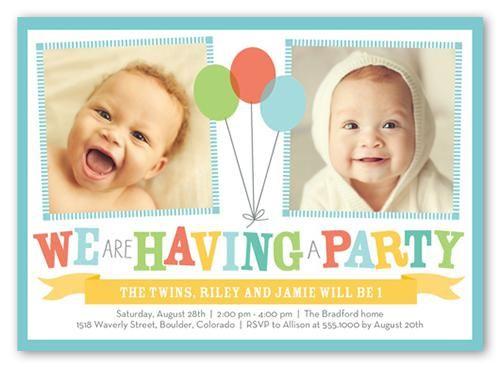 twin birthday invitations birthday invitations temmplates