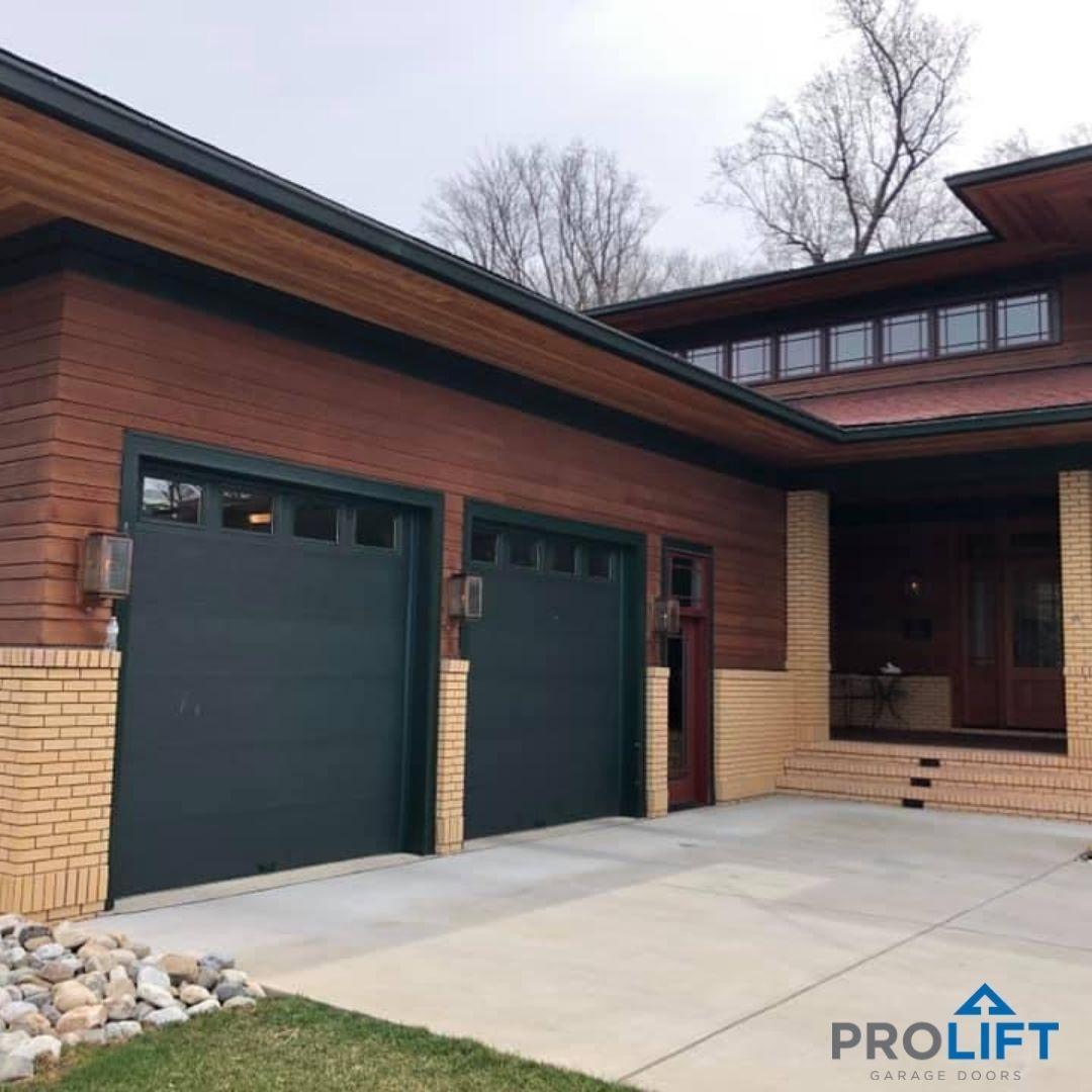 Custom Garage Door Color In 2020 Contemporary Garage Doors Garage Doors Door Design Modern