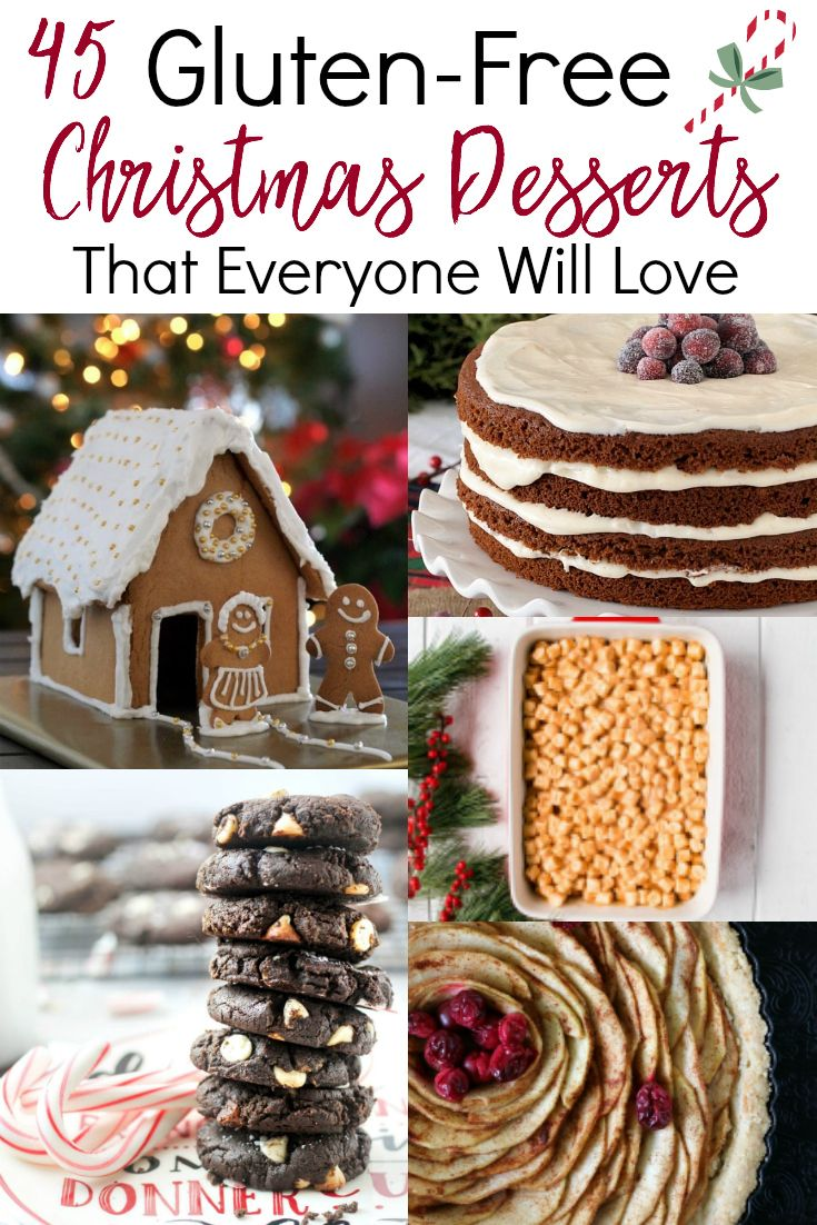 gluten free christmas desserts dont have to be boring and these recipes prove that you can still enjoy all of the christmas c