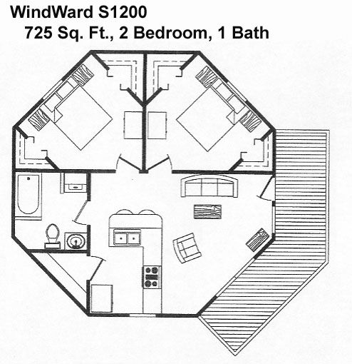 8 Sided House Plans