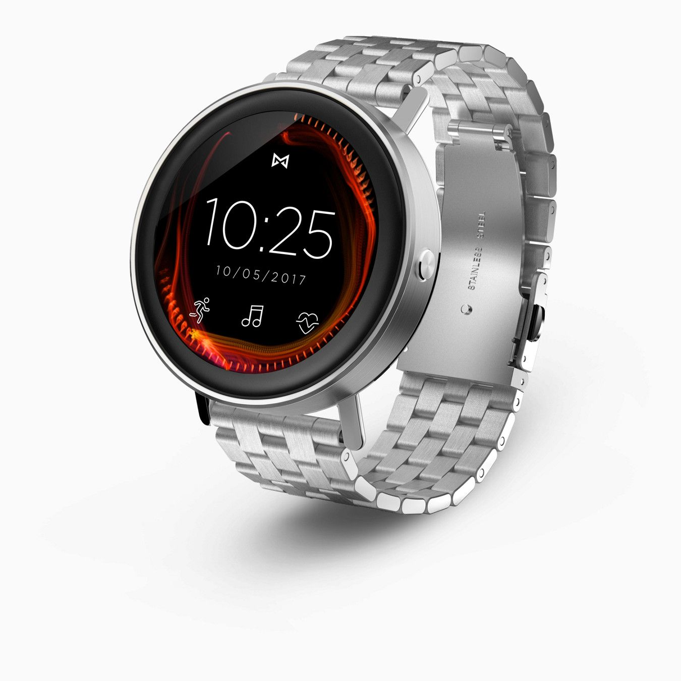 Misfit Vapor Take Your Watch Style To The Next Level With A Misfit Vapor Smartwatch Smart Watch Misfit Wearables Vapor