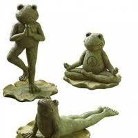 pin by ryan mccloskey on yoginess garden statues frog art garden rh pinterest com