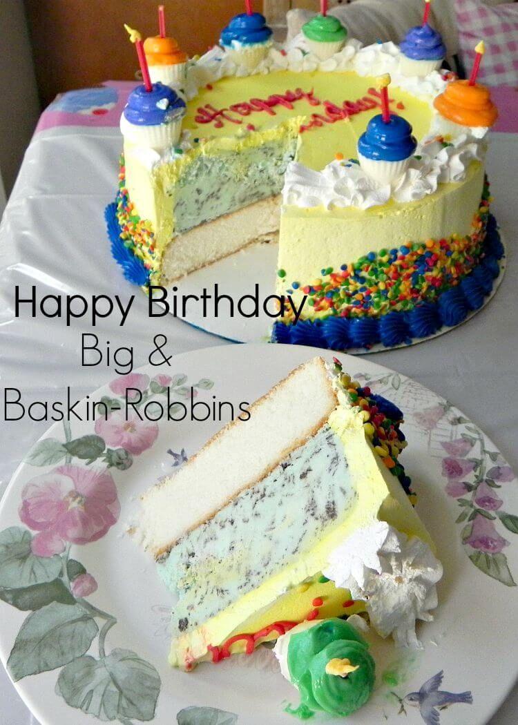 Birthdays And Baskin Robbins Baskin Robbins Birthdays And Cake