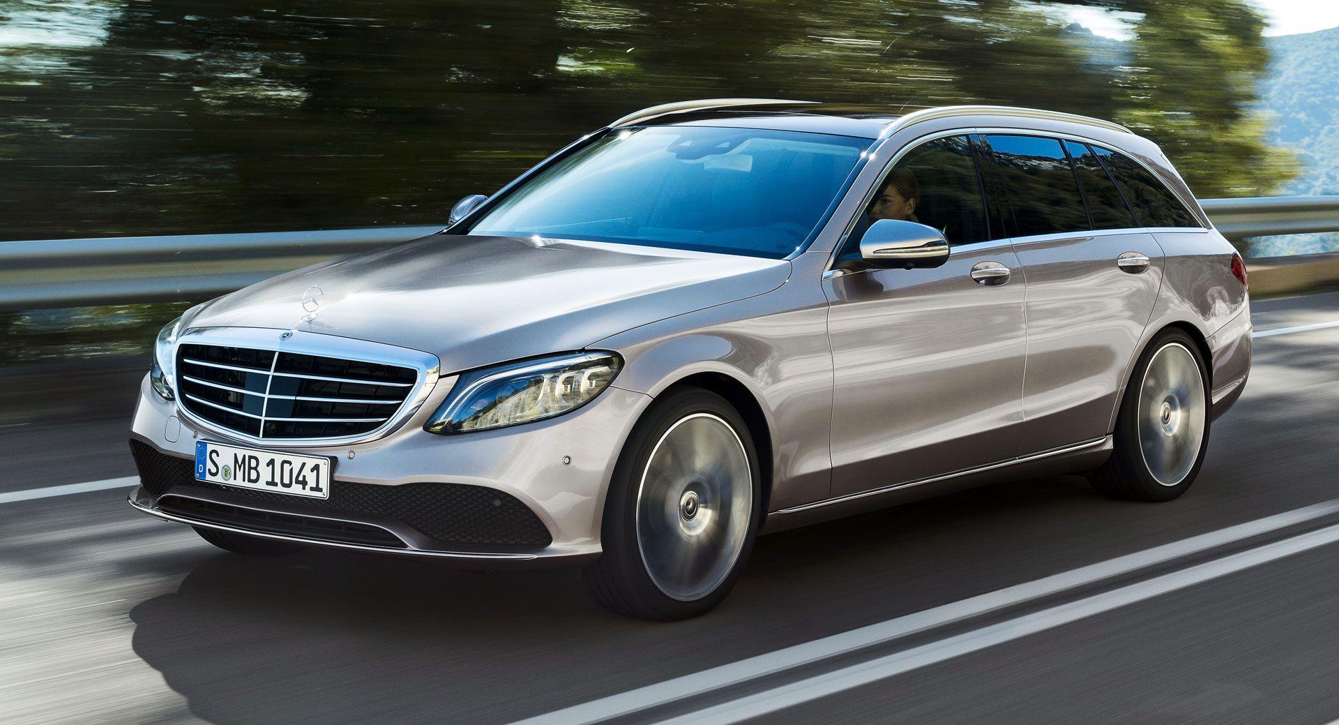 2019 Mercedes Benz C Class Facelift Debuts With S Class Tech
