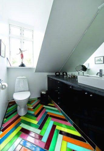 Rainbownos belles idées de décoration pour un beau intérieur coloré