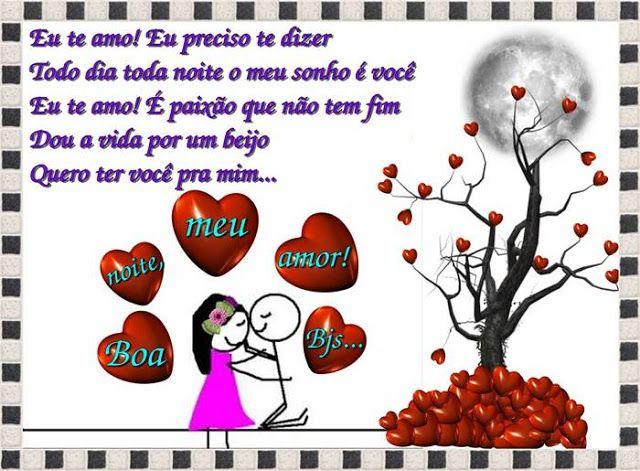 Cartoes Postais De Boa Noite Meu Amor Em 2020 Frases De Boa