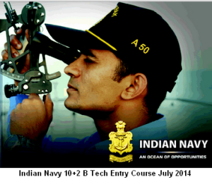 Join Indian Navy as Commissioned officer. Get details of B Tech entry scheme July 2014 course at http://cdsexam.com/indian-navy-b-tech-entry-102-cadet-july-2014-notification/