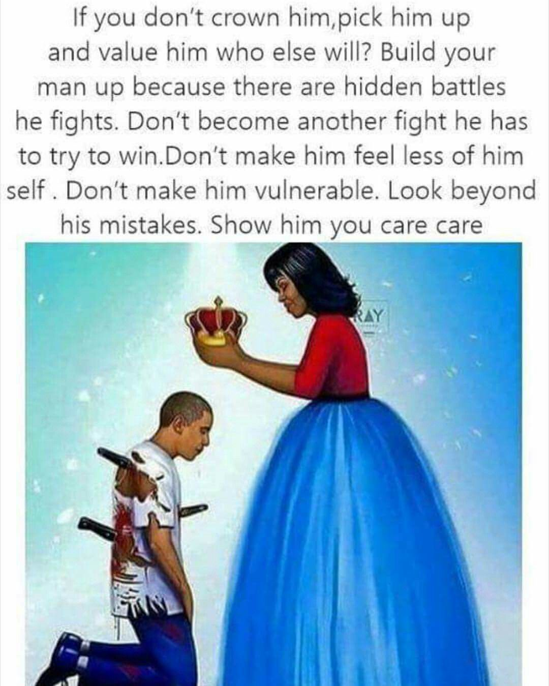 Always Bring Your Man Up Strong Couples Man Up Peace Quotes