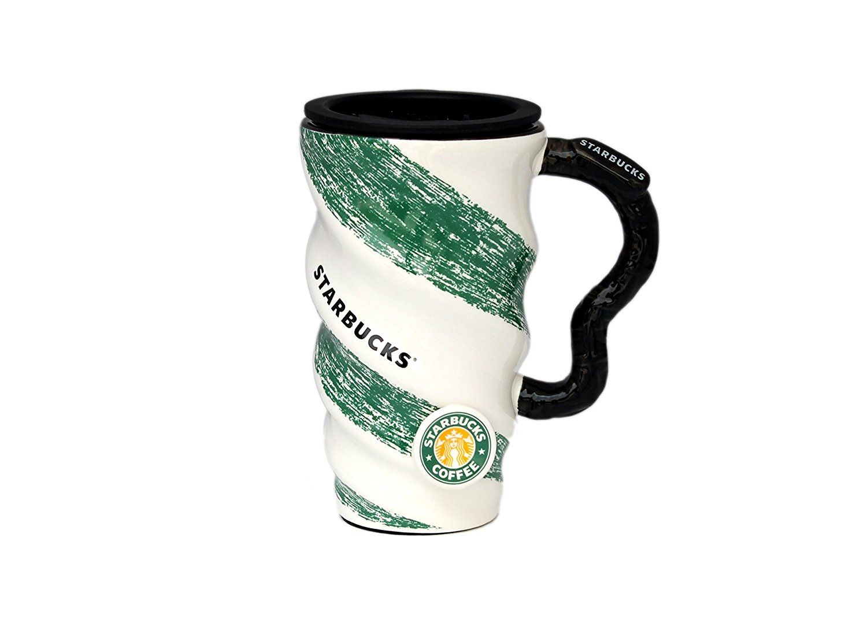 Buy Starbucks Zig Zag Coffee Mug Green 500ML Online at