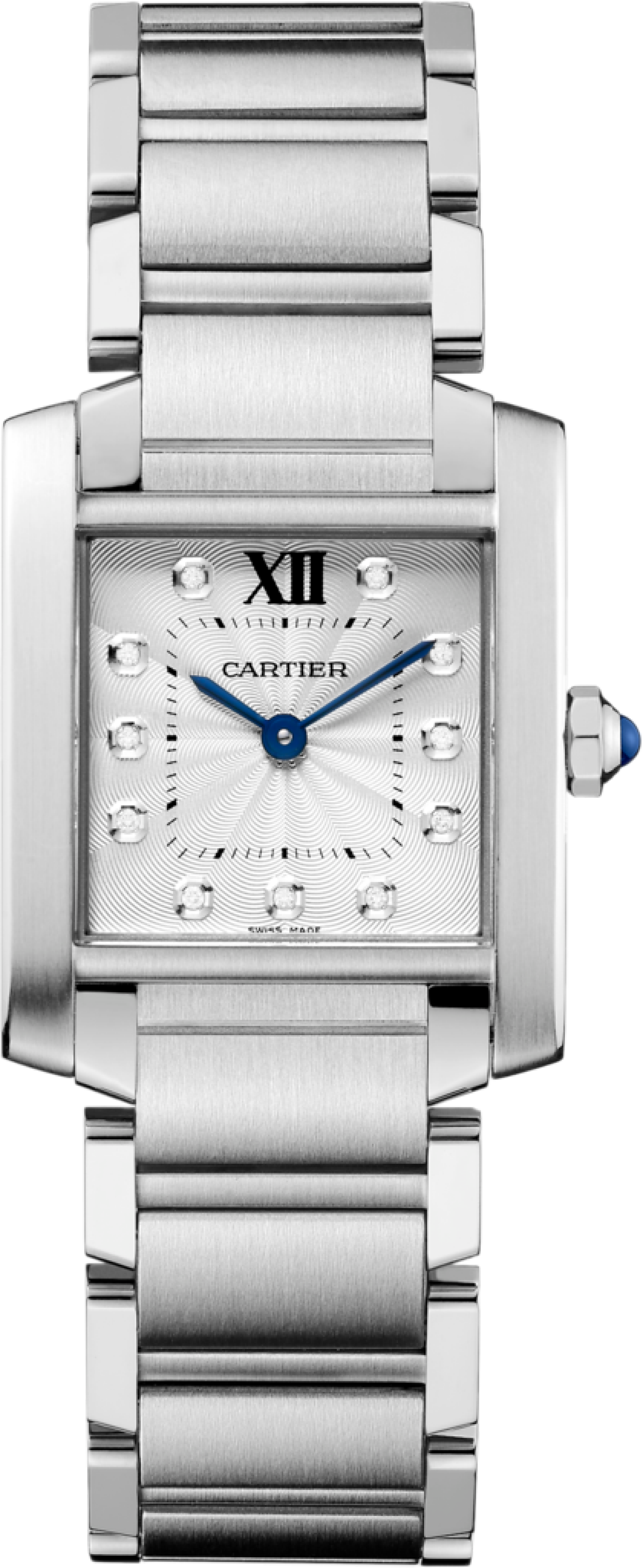 3656abe56cd Cartier Tank Francaise WE110007 Stainless Steel Watch