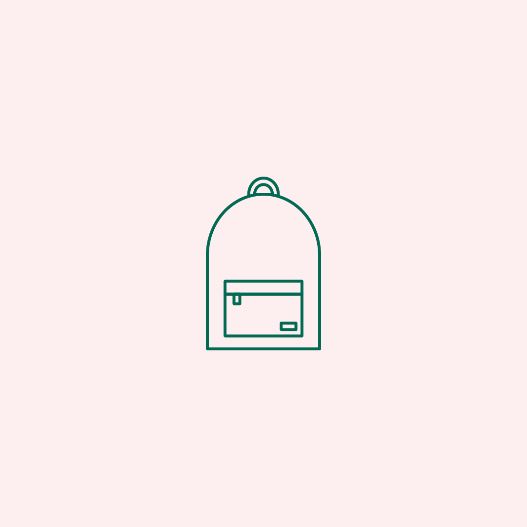 Backpack Icon Travel Icon Icon Line Icon