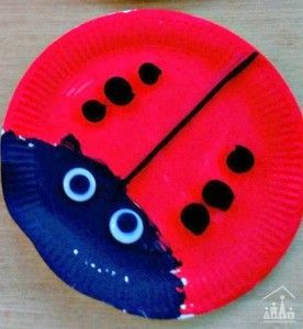 Mini beasts · Paper Plate Ladybird & Paper-plate minibeasts - Ladybirds Bees and Snails | Paper plate ...