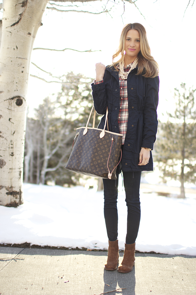 Classics for fall/winter that last forever. Pieces like this will always be in style! / Ivory Lane