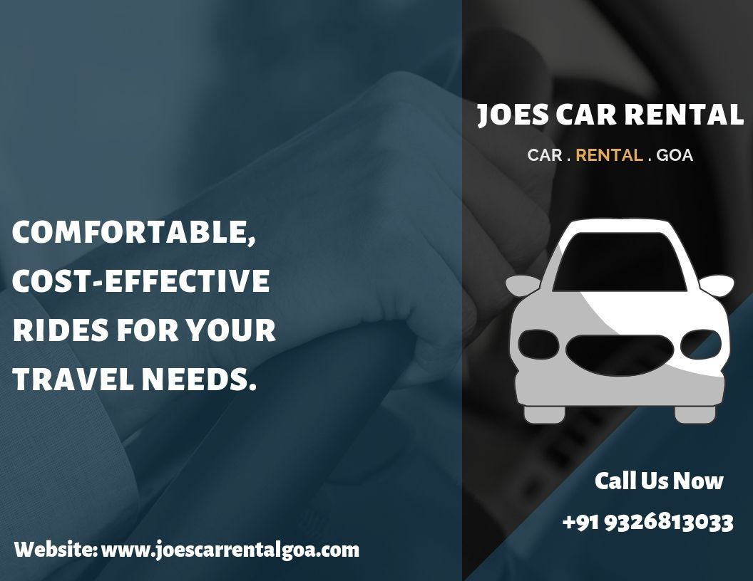 Joe S Provides Goa Airport Car Rental With All Maintained And