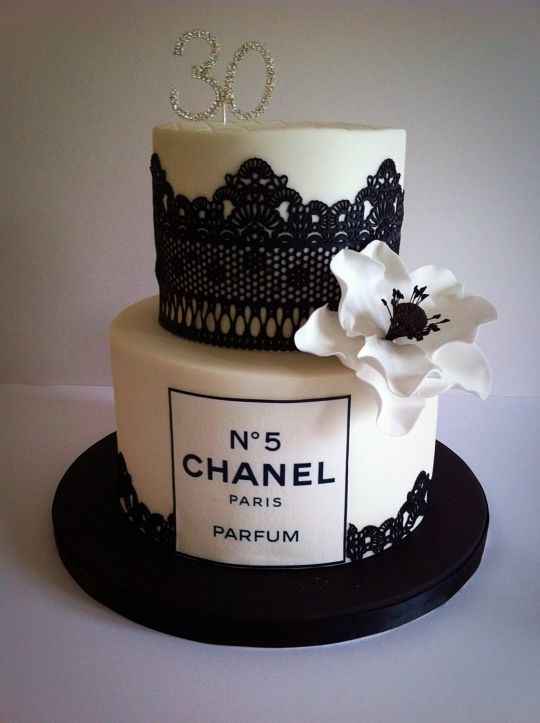 Channel Cake Black And White Cakes Pinterest Channel Cake