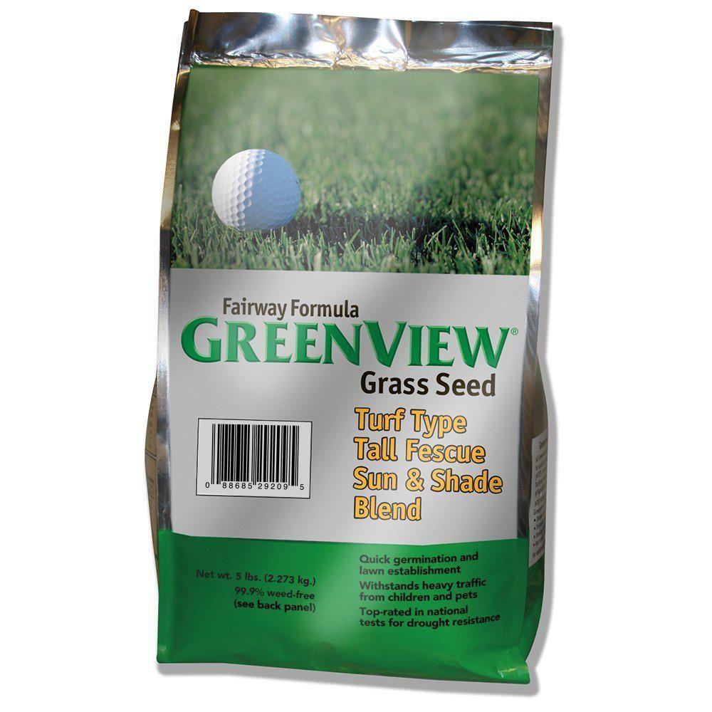 GreenView 25 lb. Fairway Formula Perennial Ryegrass Blend ...