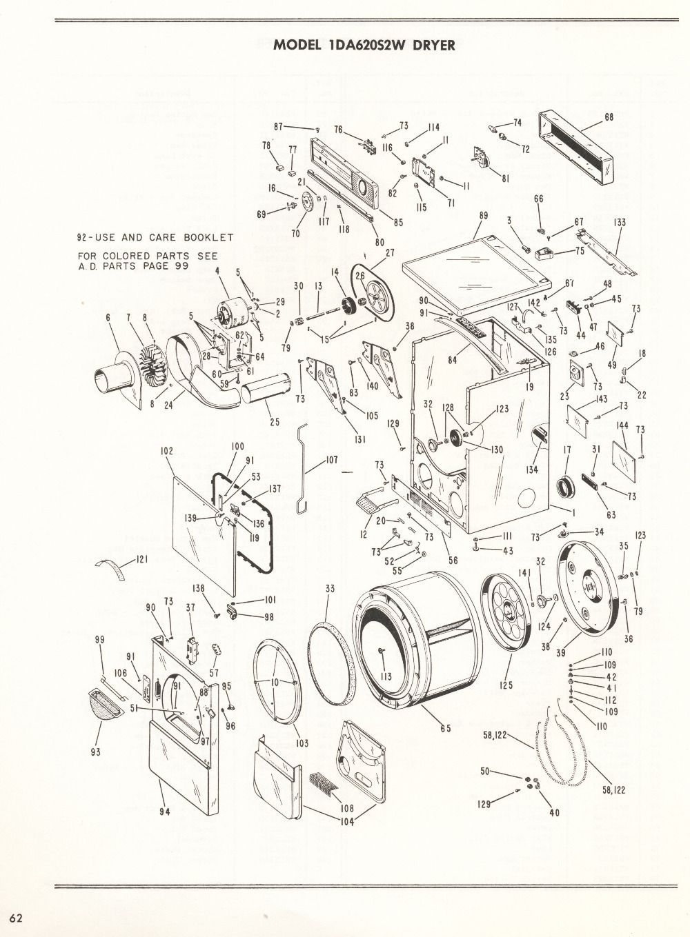 1959 GE Dryer Service Manual Doctrine 07.07.12 | resit ... Ge Dryer Schematic on
