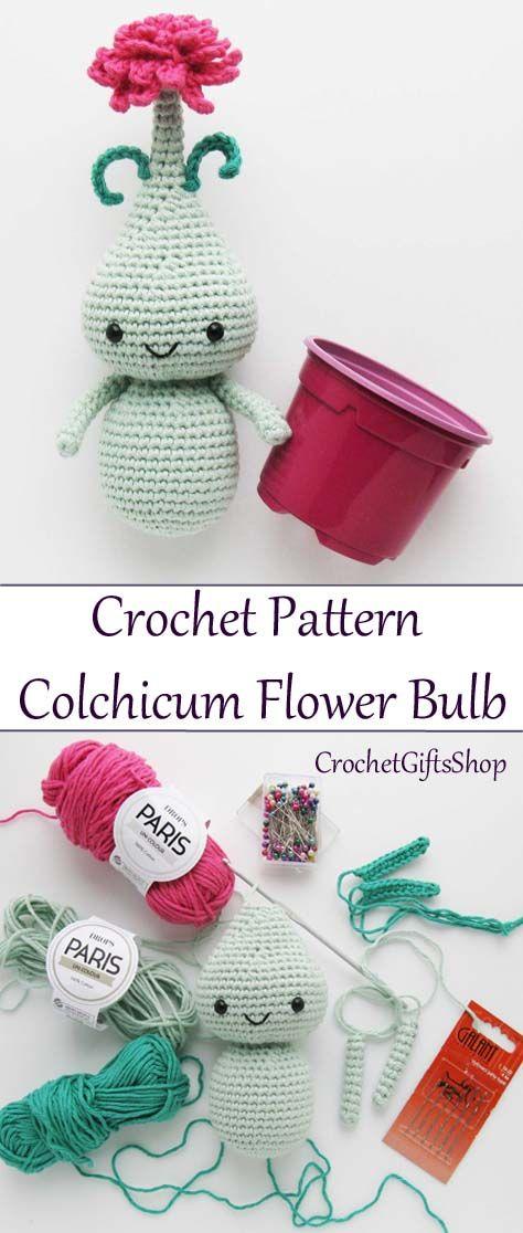 Amigurumi Flower Colchicum pattern by Irina Mulyavko | CROCHET ...