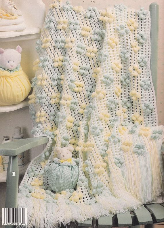 Cute Baby Afghan Crochet Patterns - Roly-Poly 6 Designs | Colchas ...