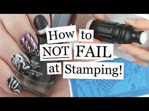 How To NOT FAIL At Stamping | Nail Art Tutorial | Nailed It NZ
