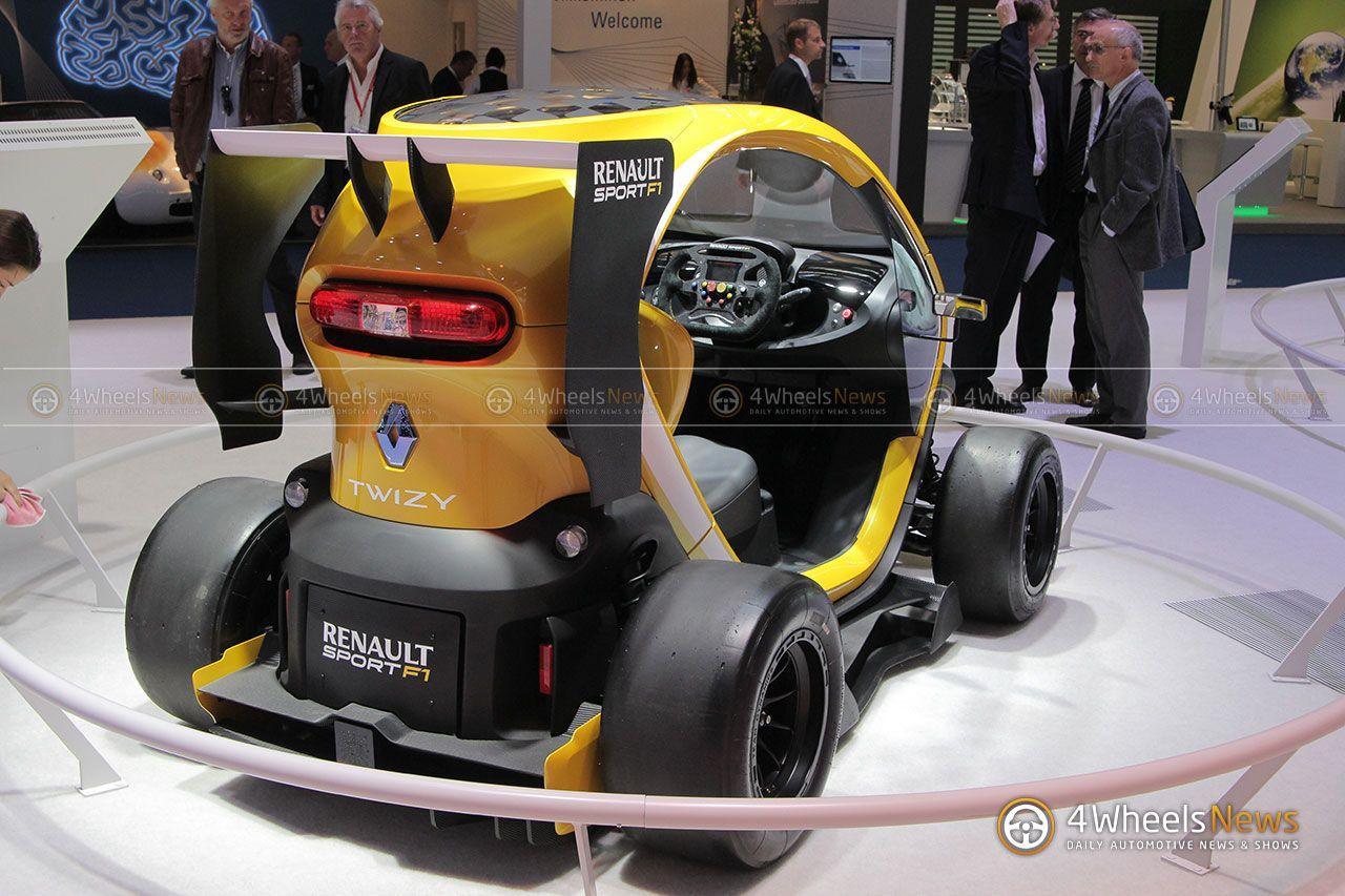 2017 Iaa Renault Twizy F1 Zooms Through Frankfurt Live Photos