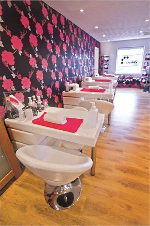 High end salon brings nail art to aberdeen scotland for Aberdeen beauty salon
