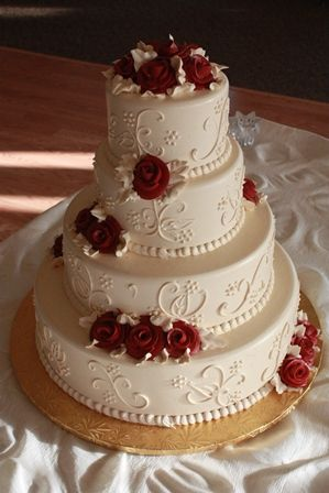 wedding cake icing designs wedding cake ivory frosting and designs with 22868