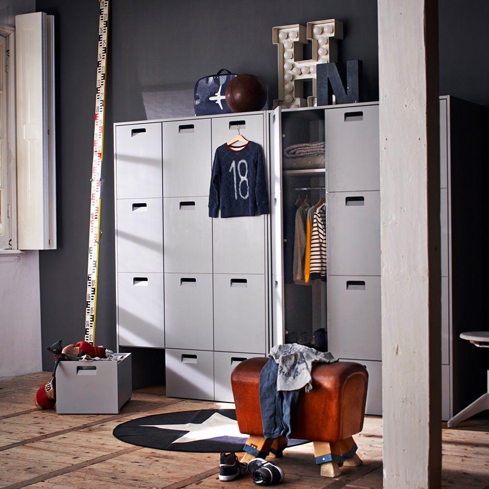 Pine Locker Storage Wardrobe | Home. | Pinterest | Internal double ...